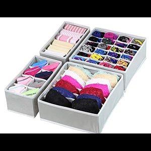 🆕 Closest Underwear Organizer Drawer Divider Set